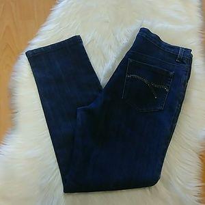 Bedazzled Gloria Vanderbilt Amanda Jeans